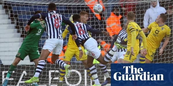 West Brom smash five past Swansea to go back to top of Championship