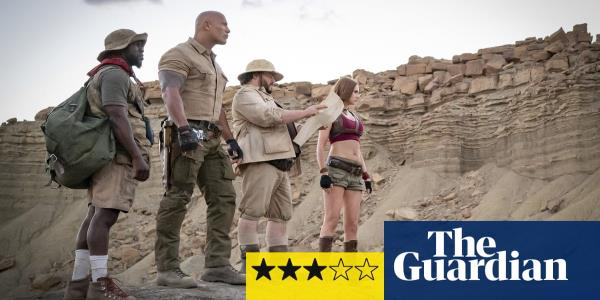 Jumanji: The Next Level review – Dwayne Johnson ups his comedy game