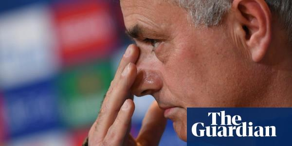 'I forbid any image of it': Mourinho bans Spurs watching Bayern defeat – video