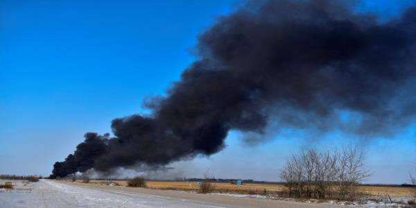 Fires from CP Rail train derailment under control: safety officials