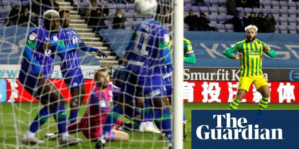 Championship: Wigan hold West Brom, Swanseas Cooper rages at referee