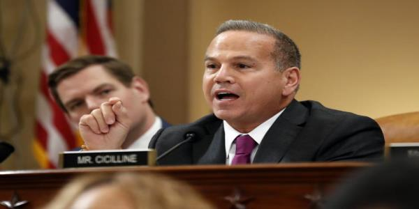 Democratic Rep. Cicilline asks Republicans if they are ready to trade the values of Madison for the values of Moscow