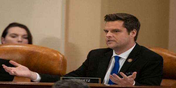 After GOP Rep. Matt Gaetz brings up Hunter Bidens substance abuse, hes reminded of his own DUI