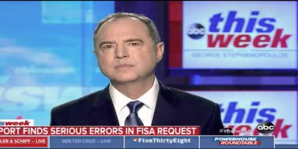Schiff acknowledges FBIs mistakes in wake of inspector general report, but sticks by probe