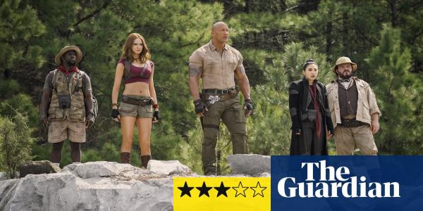 Jumanji: The Next Level review – an upbeat, frenetic adventure