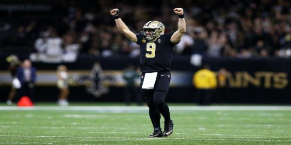 Drew Brees sets new NFL record for touchdown passes, but Tom Brady isnt far behind