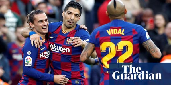European roundup: Barcelona stroll, Inter go top and Bayern win late