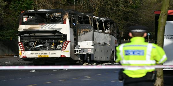 Woman Killed In London Crash Between National Express Coach And Car