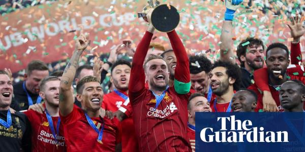 Champions of the world: Liverpool savour Club World Cup triumph – video