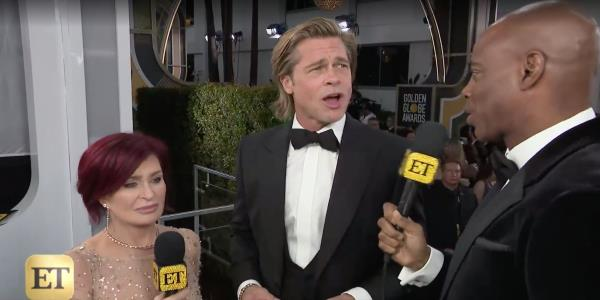 Golden Globes 2020: Brad Pitt Keeps His Cool After Jennifer Aniston Question On Red Carpet