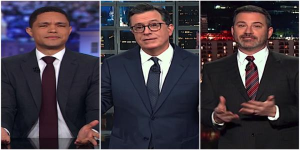 Late night hosts think Trump is acting pretty nonchalant about his imminent war with Iran