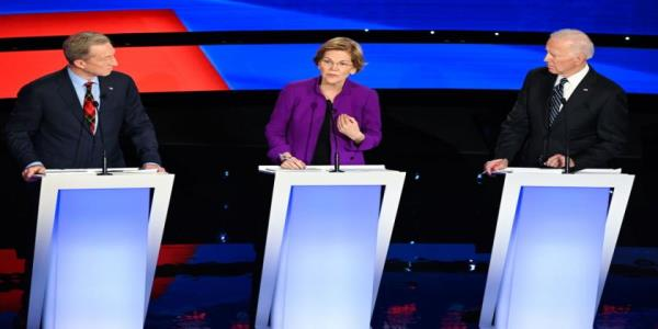 Elizabeth Warren gleefully reminds male candidates how many elections theyve lost