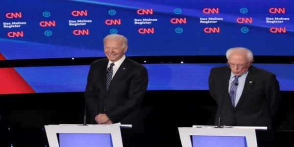 How Joe Biden escaped the Democratic debate unscathed