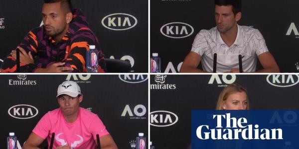 Australian Open: Players discuss air quality concerns before tournament – video