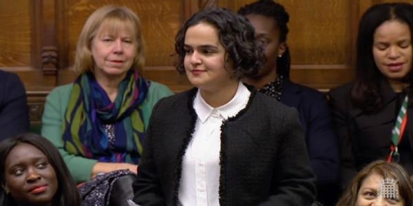 Britains Youngest MP Says She Feels Unwelcome In Parliament As A 'Working-Class Woman Of Colour'