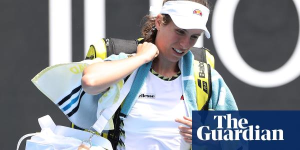 Johanna Konta bundled out of Australian Open by Ons Jabeur