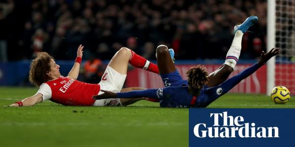 David Luiz's red card leaves Arsenal pondering philosophical matters | Barney Ronay