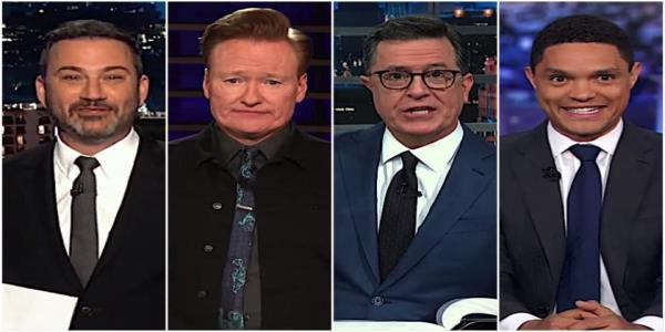 Late night hosts suspect Trumps Senate GOP impeachment jury cant handle the truth, or the strict rules