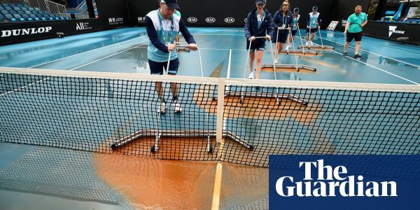 Medvedev and Nadal escape dirt deluge to advance at Australian Open