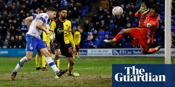 Tranmere's Paul Mullin sends Watford crashing out after marathon Cup tie