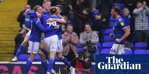 Football League: Ipswich top League One while Peterborough fan officiates