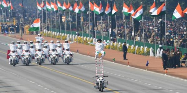 Women grab limelight at Indias Republic Day pageantry