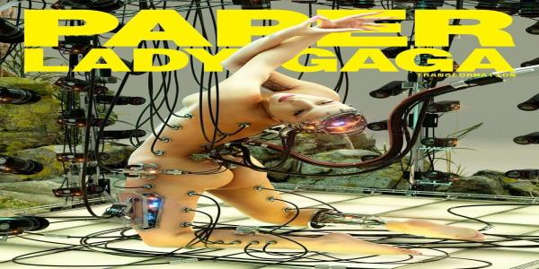 Lady Gagas Naked Paper Magazine Cover Is All Kinds Of Incredible