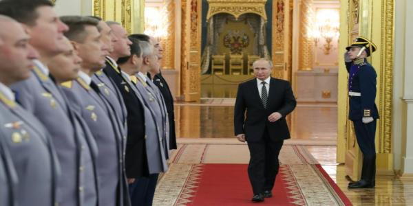 Putin says hes not a tsar after 20 years in power