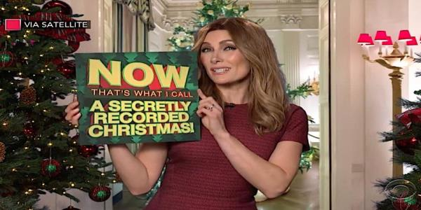 Stephen Colbert asks his Late Show Melania Trump about her Christmas decor, COVID parties