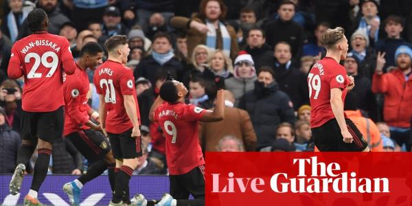 Manchester City v Manchester United: Premier League – live!