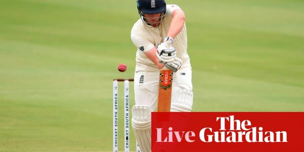 South Africa v England: fourth Test, day one – live!