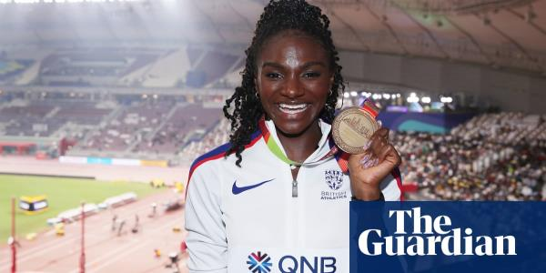 Running with deer in park helped Dina Asher-Smith to stay in shape