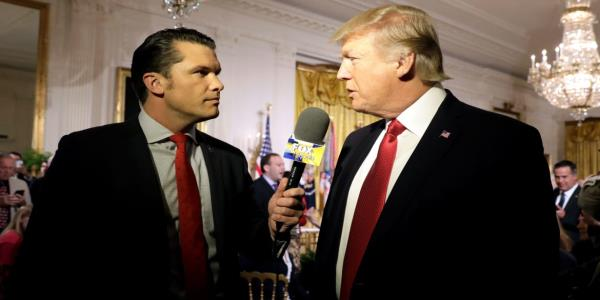 Fox News Host Pete Hegseth Getting Married to Colleague at Trump's New Jersey Club