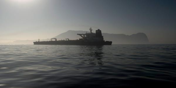Iranian tanker sets sail from Gibraltar after US detention request rejected