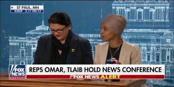 Reps. Omar, Tlaib call for an end to Israels occupation of Palestinian territories