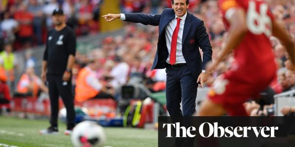 David Luiz shirt-pull was 'not enough' for a penalty, says Unai Emery