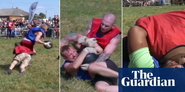 Rugby meets MMA in the violent Russian sport of kila – video