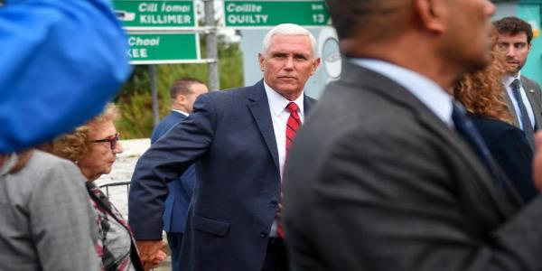 Mike Pence accused of humiliating hosts in Ireland