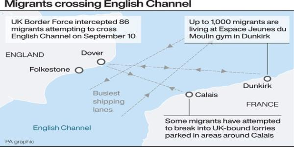 Channel Migrants: Two More Boats Found After 86 People