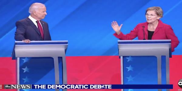 Joe Biden tried to pit Elizabeth Warren against Obama. She wasnt having it