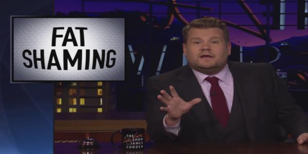 James Corden rips Bill Maher for pro-fat shaming comments: Fat-shaming is just bullying