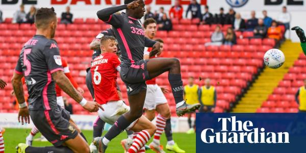 Eddie Nketiah's strike helps puts Leeds on top again after late win at Barnsley