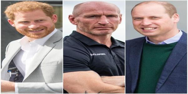 Prince Harry And Prince William Send Support To 'Legend' Gareth Thomas After He Is Forced To Go Public With His HIV Status