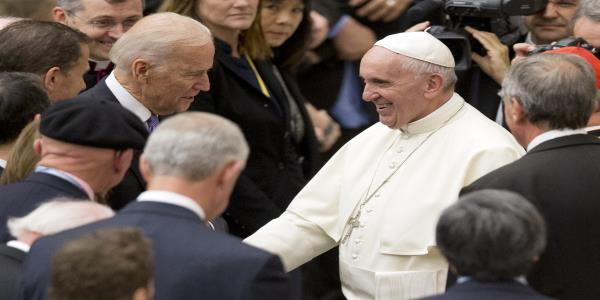 Bidens abortion shift tests the politics of his faith