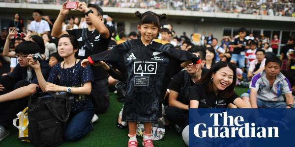 Let's ruck and roll: Japan wakes up to the arrival of rugby giants