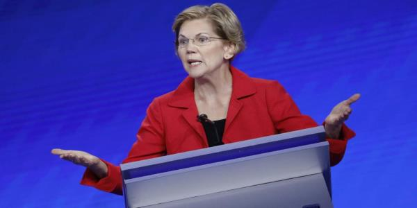 Elizabeth Warren's Rivals Start to Turn on Her