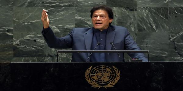 Pakistan Leader Warns of Kashmir Blood Bath in Emotional U.N. Speech