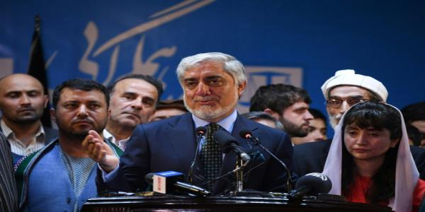 Abdullah claims win over Ghani in Afghan vote well ahead of results