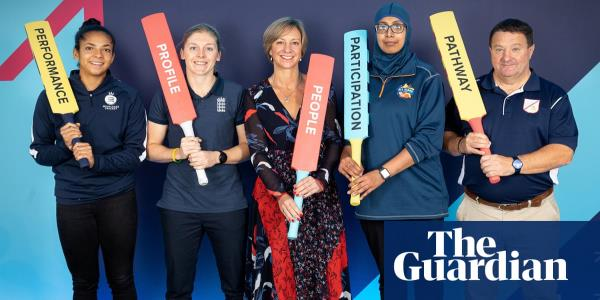 ECB launches £20m plan to transform women's cricket and emulate Australia