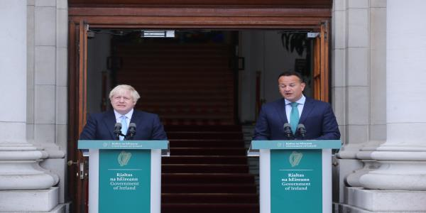 Boris Johnson To Meet Irish PM In Last-Ditch Bid To Salvage Brexit Deal
